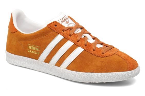 adidas gazelle orange femme