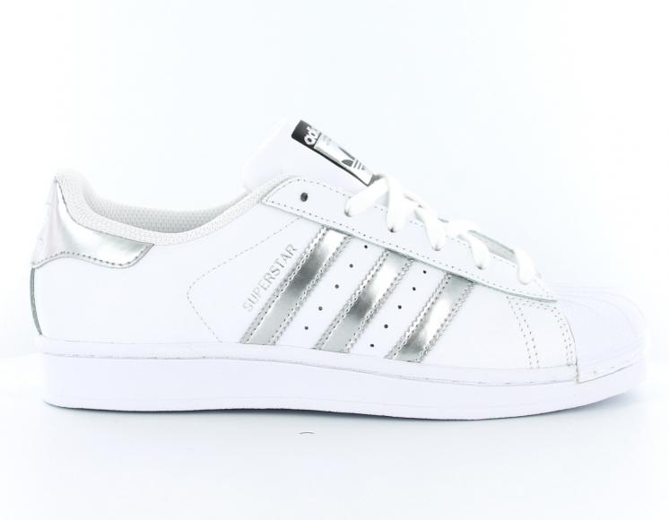 adidas original original femme superstar blanche blanche ...