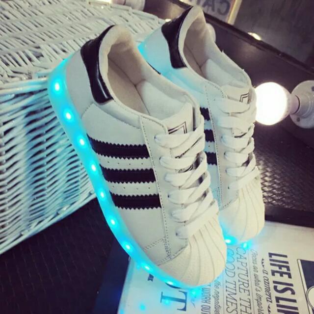 زائدة رسالة قصب adidas superstar light up shoes
