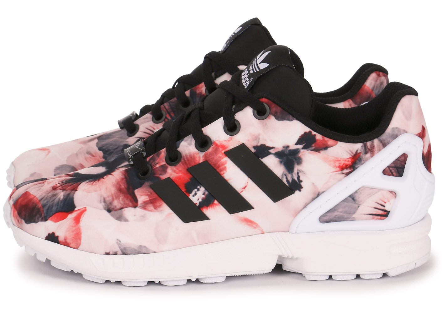 adidas zx flux print femme