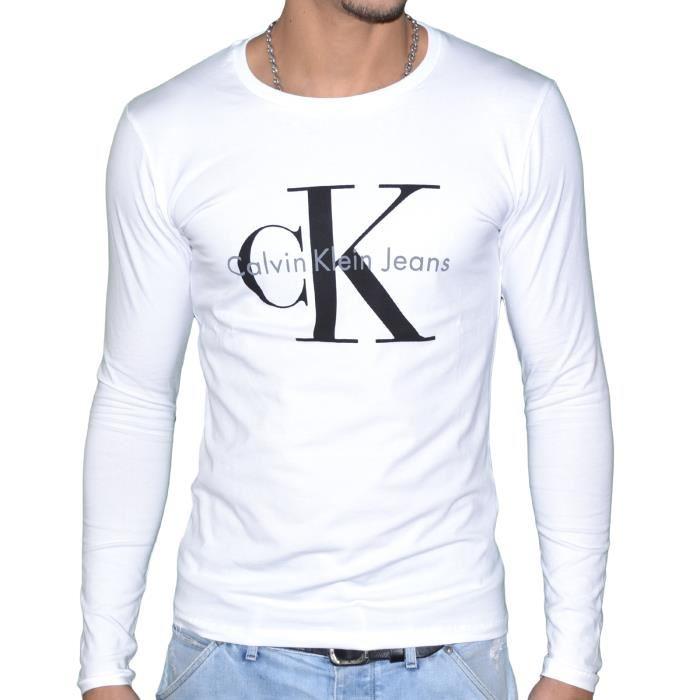 hombre Klein de de Calvin hombre Camiseta Camiseta KlF5u1cTJ3